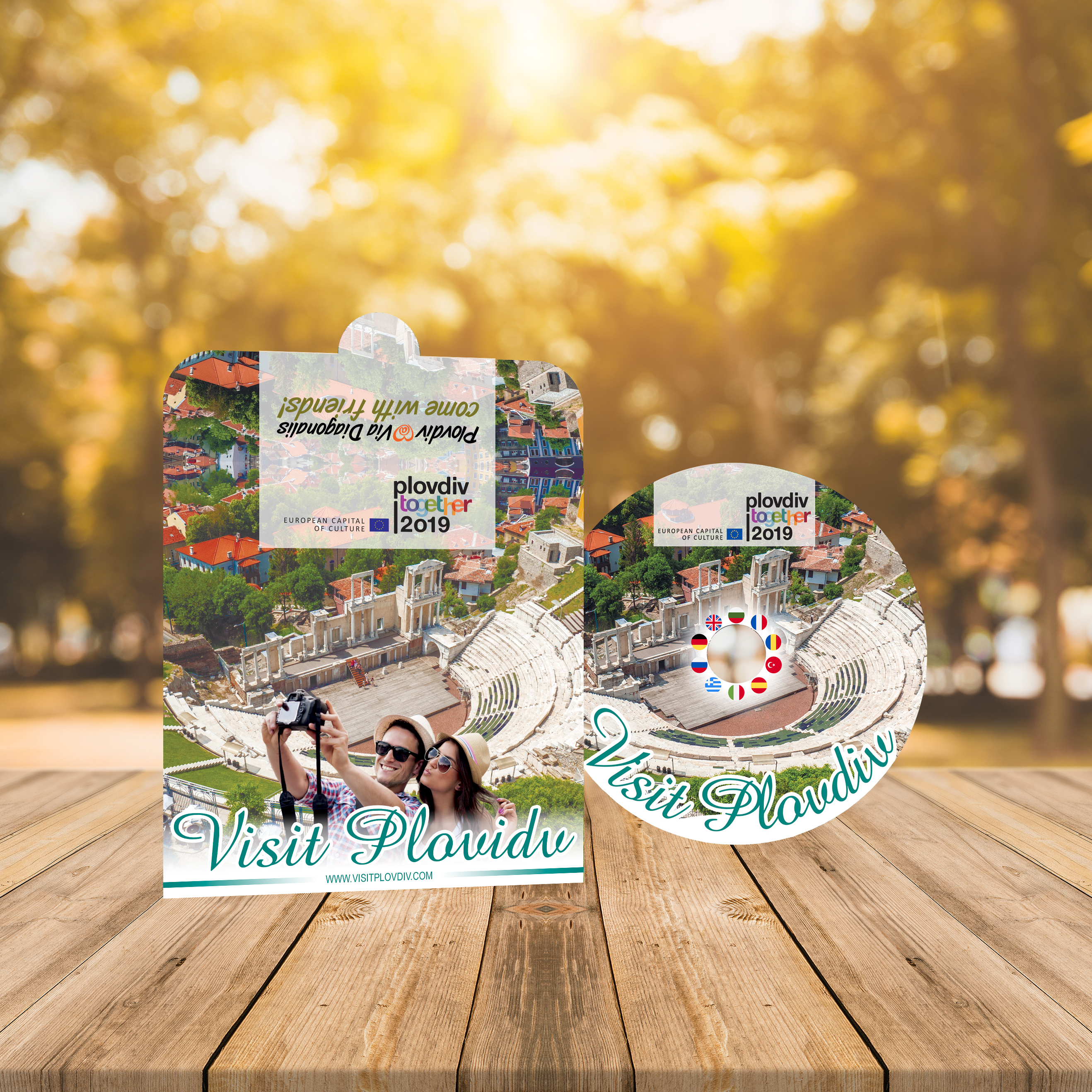 CD and cover design